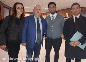 Lidia Ladi, Remigio Sicilia, Giampiero Crescenzi e Edoardo Manni