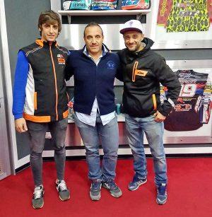 Sport - Motocross - Alessandro Brugnoni con Elio Marchetti e Riccardo Iannarone