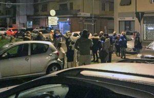 Borgo San Lorenzo - Paura per il terremoto, cittadini in strada
