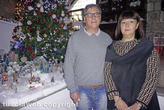 Viterbo - Vincenzo Fini e Antonella Rocchetti