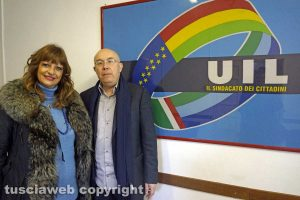 Viterbo - Silvia Somigli e Massimo Pistilli