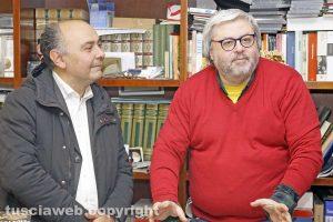 Viterbo - Giuseppe De Cristofaro e Carlo Galeotti