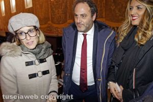 Viterbo - Enrica Onorati, Daniele Ognibene e Alessandra Troncarelli