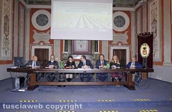 Viterbo - La presentazione della legge regionale contro il caporalato