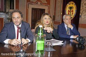 Viterbo - Daniele Ognibene, Alessandra Troncarelli e Giovanni Arena