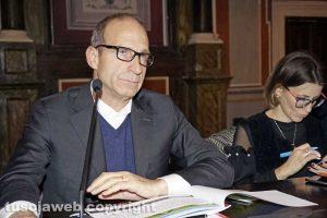 Viterbo - L'assessore Claudio Di Berardino