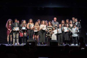 Viterbo - Il gruppo finale del Mini festival