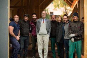 """Renzo Piano ha presentato quattro progetti inseriti nella iniziativa """"G124 anno 2019"""""""