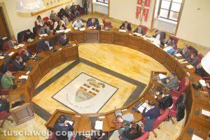 Viterbo - L'assemblea dell'Ato a palazzo Gentili