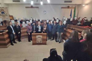 Montalto di Castro - La consegna degli attestati