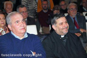 Giuseppe Fioroni e don Aldo Buonaiuto