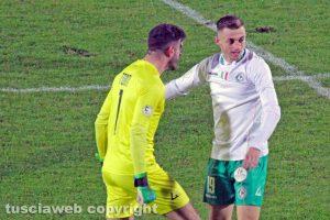 Sport - Calcio - L'esultanza di Claudiu Micovschi