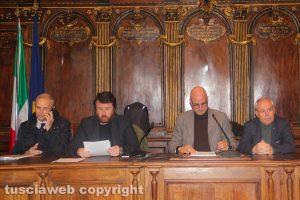 Viterbo - La commissione congiunta
