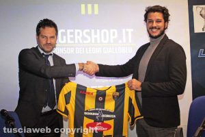 Sport - Calcio - Viterbese - Daniele Vella e Giuseppe Capozzoli