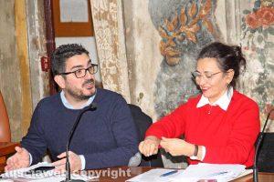Angelo Ciocchetti e Antonella Claudiani