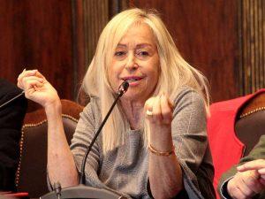 Viterbo - Corsi dedicati a Giorgio Capitani, la casting director durante una conferenza stampa