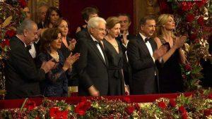 La prima alla Scala di Milano