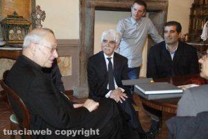 Massimiliano Sensi con Antonello Ricci