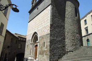 Viterbo - La chiesa della Madonna della Salute