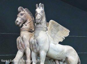 Tarquinia - Cavalli alati