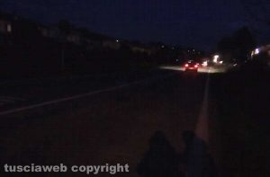 Capodimonte - Strada Verentana al buio