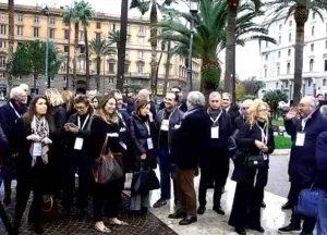 Roma - Maratona oratoria contro lo stop alla prescrizione