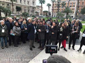 Roma - Sciopero dei penalisti contro la riforma