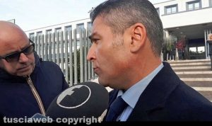 Giallo di Ronciglione - L'avvocato di parte civile Vincenzo Luccisano