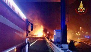 Padova - L'incidente sulla A4