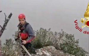 Salerno - L'intervento dei vigili del fuoco