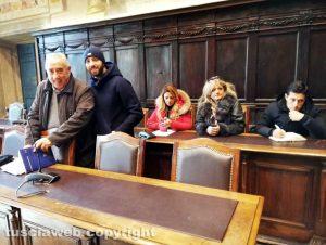 Viterbo - Il gruppo della Lega in seconda commissione