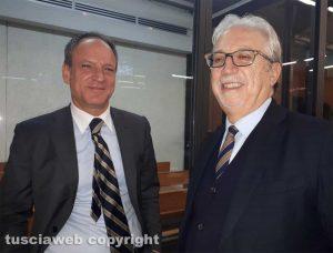 Gli avvocati Marco Russo e Roberto Alabiso