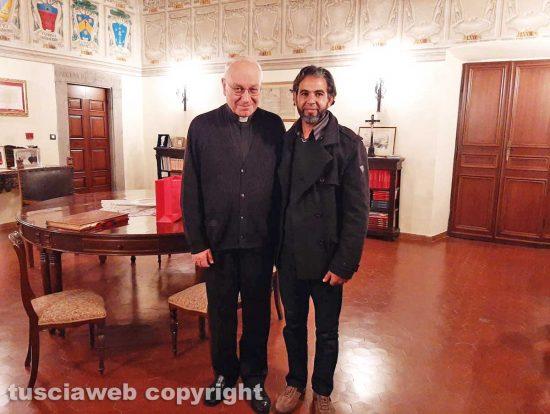 Viterbo - Lino Fumagalli e Mohamed Kdib