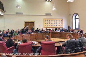 Viterbo - La riunione dell'Ato a palazzo Gentili