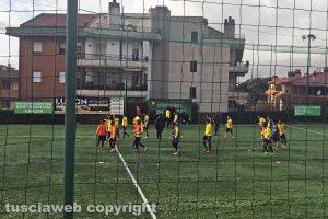 Sport - Calcio - Viterbese - Il presidente Romano osserva gli allenamenti
