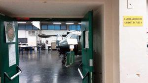 Laboratorio aerotecnica dell'Itt Da Vinci Viterbo