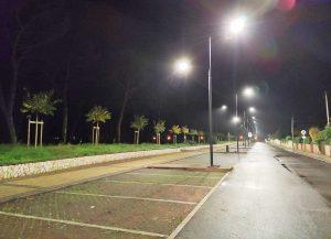 Montalto Marina - Nuova illuminazione a via Arbea