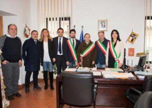 Villa San Giovanni in Tuscia - L'inaugurazione del punto Inps