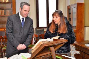 Civitavecchia - L'onorevole Battilocchio visita il Cesiva