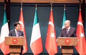Ankara - L'incontro tra Erdogan e Conte