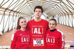 Sport - Atletica leggera - Elena Vergaro, Federico Ercoli ed Erica Ciatti