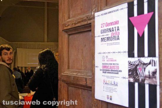 Viterbo - Il ricordo dello sterminio degli omosessuali - Palazzo Anselmi