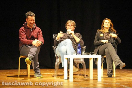 Viterbo - Gaetano Carramusa, Filippo Rossi e Annalisa Canfora