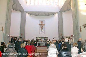 Viterbo - La messa di santa Giacinta Marescotti
