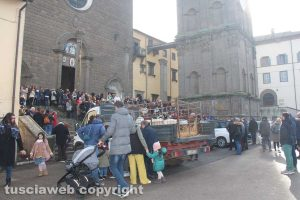 Viterbo - Sant'Antonio Abate, la benedizione degli animali a La Quercia