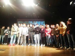 Grande festa ieri al Teatro Francigena con i giovani capranichesi