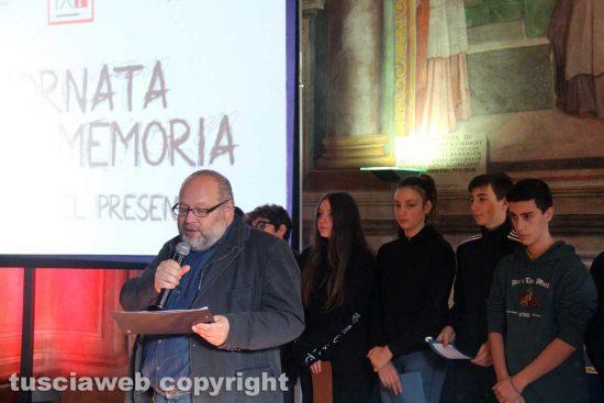 Viterbo - La giornata della memoria a palazzo dei Priori