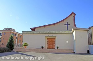 Viterbo - La chiesa dei Santi Valentino e Ilario