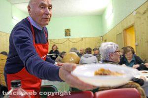 Viterbo - Il pranzo di solidarietà
