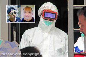 Omicidio Fedeli - I rilievi della scientifica nel negozio di via San Luca